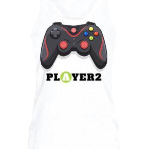 Player 2 – Női ujjatlan póló