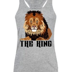 The king Az oroszlán – Női ujjatlan póló