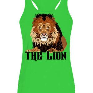 The lion Az oroszlán – Női ujjatlan póló