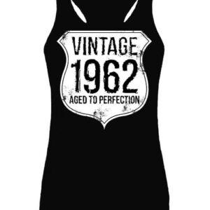 Vintage 1962 szülinapos – Női ujjatlan póló