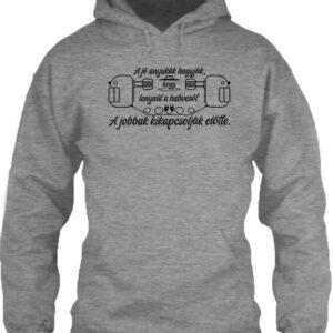 Jó anyuka – Unisex kapucnis pulóver