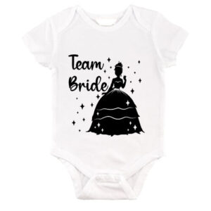 Team Bride Princess lánybúcsú – Baby Body