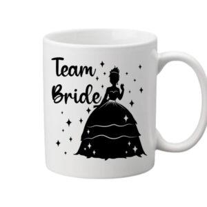 Team Bride Princess lánybúcsú – Bögre