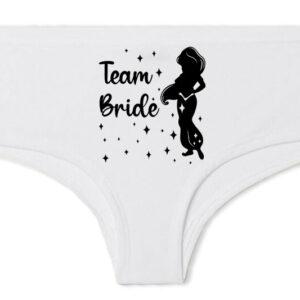 Team Bride Jázmin lánybúcsú – Francia bugyi
