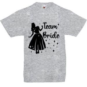 Team Bride Hercegnő lánybúcsú- Gyerek póló