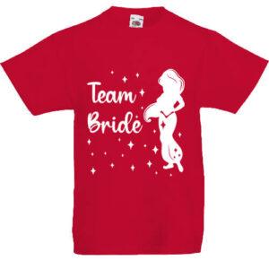 Team Bride Jázmin lánybúcsú- Gyerek póló