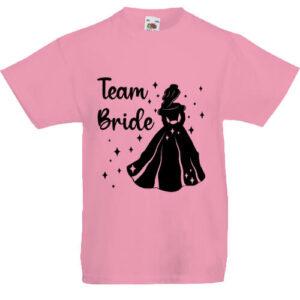 Team Bride Királynő lánybúcsú- Gyerek póló