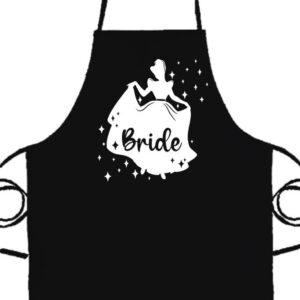 Bride Hercegnő lánybúcsú- Prémium kötény