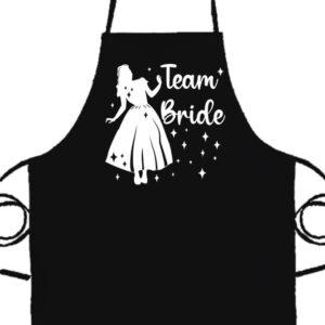 Team Bride Hercegnő lánybúcsú- Basic kötény
