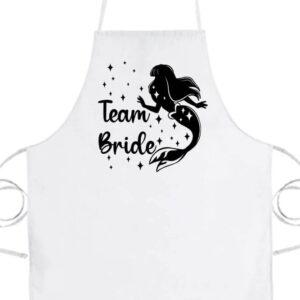 Team Bride Szirén lánybúcsú- Basic kötény