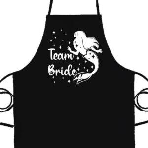Team Bride Szirén lánybúcsú- Prémium kötény