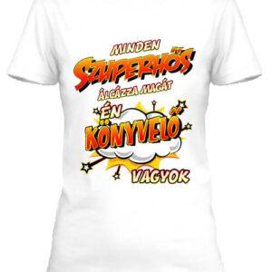 Szuperhős könyvelő – Női póló