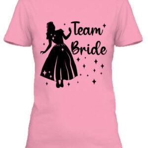 Team Bride Hercegnő lánybúcsú – Női póló