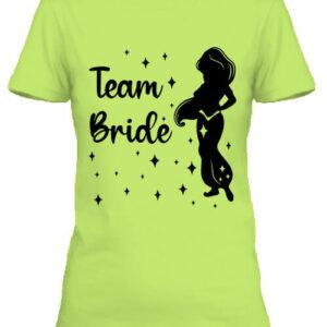 Team Bride Jázmin lánybúcsú – Női póló