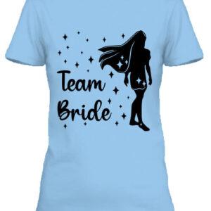 Team Bride Pocahontas lánybúcsú – Női póló