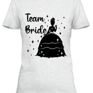 Team Bride Princess lánybúcsú – Női póló