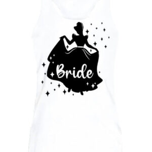 Bride Hercegnő lánybúcsú – Női ujjatlan póló