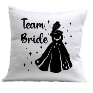 Team Bride Királynő lánybúcsú – Párna