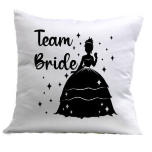 Team Bride Princess lánybúcsú – Párna