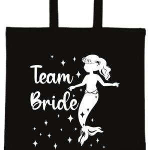 Team Bride Sellő lánybúcsú- Basic rövid fülű táska