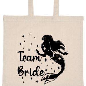 Team Bride Szirén lánybúcsú- Basic rövid fülű táska
