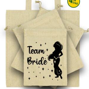 Team Bride Jázmin lánybúcsú – Táska szett