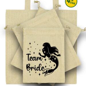 Team Bride Szirén lánybúcsú – Táska szett