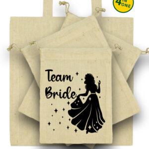Team Bride Úrnő lánybúcsú – Táska szett