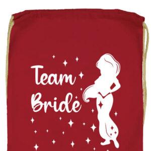 Team Bride Jázmin lánybúcsú- Prémium tornazsák
