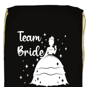 Team Bride Princess lánybúcsú- Basic tornazsák