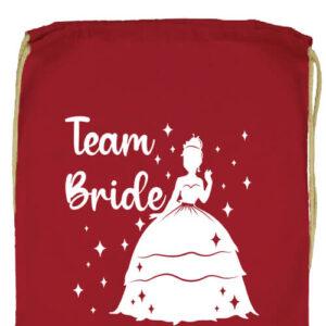 Team Bride Princess lánybúcsú- Prémium tornazsák