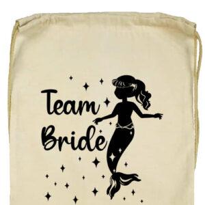 Team Bride Sellő lánybúcsú- Basic tornazsák