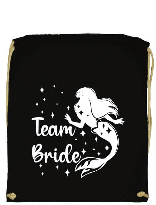 Tornazsák Team Bride Szirén lánybúcsú fekete