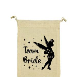 Team Bride Csingiling lánybúcsú – Vászonzacskó közepes