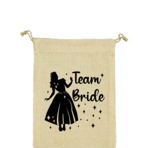 Team Bride Hercegnő lánybúcsú – Vászonzacskó kicsi