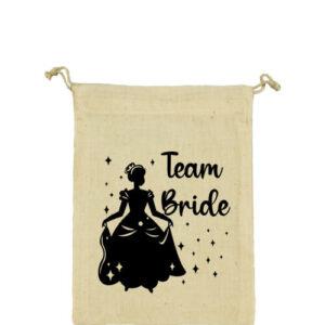 Team Bride Királylány lánybúcsú – Vászonzacskó közepes