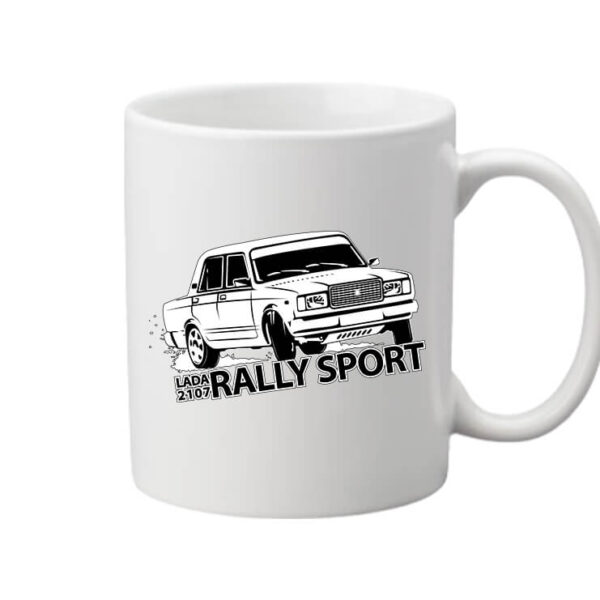 Bögre Rally Lada fehér
