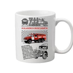 ZIL 131 tűzoltó – Bögre
