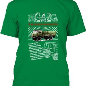 GAZ 66 – Férfi póló