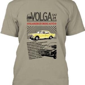 Volga M24 – Férfi póló