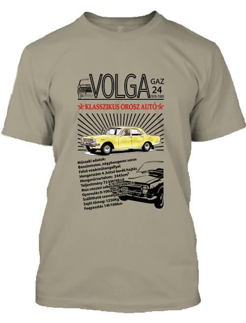 Férfi póló Volga M24 khaki