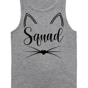 Cica squad – Férfi ujjatlan póló