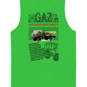 GAZ 66 – Férfi ujjatlan póló