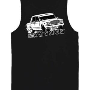 Rally Lada – Férfi ujjatlan póló