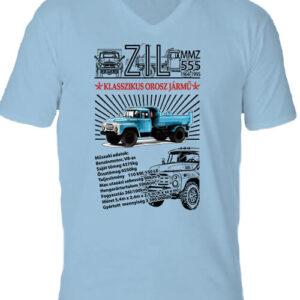 ZIL MMZ 555 – Férfi V nyakú póló