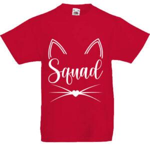 Cica squad- Gyerek póló