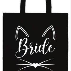 Cica bride- Prémium hosszú fülű táska