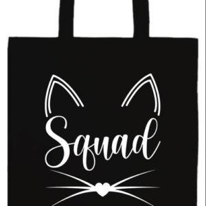 Cica squad- Prémium hosszú fülű táska