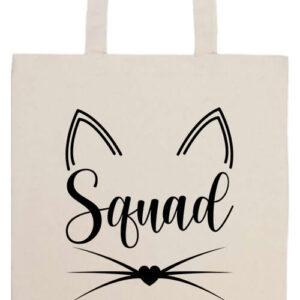 Cica squad- Basic hosszú fülű táska