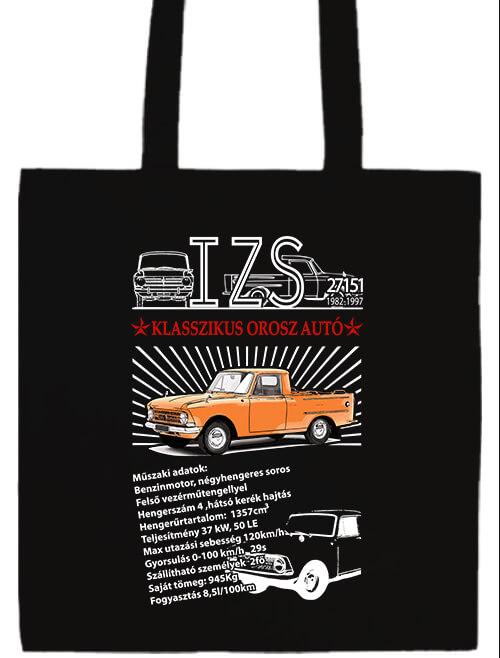 Hosszú fülű táska mánia Izs 2715 pick up fekete